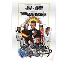 Star Trek DS9 - Deep Space Nine - 'Our Man Bashir' James Bond 007 Poster Poster