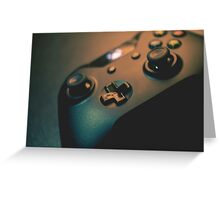 XBOX One Controller Top View Greeting Card
