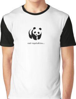 eat vegetables... Graphic T-Shirt