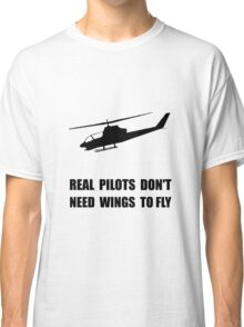 Helicopter Pilot Wings Classic T-Shirt