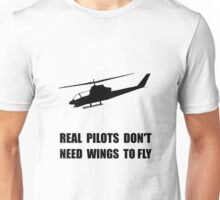 Helicopter Pilot Wings Unisex T-Shirt