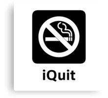 iQuit Canvas Print