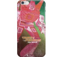 G1 Transformers Movie Poster iPhone Case/Skin