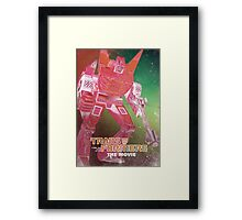 G1 Transformers Movie Poster Framed Print