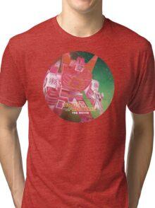 G1 Transformers Movie Poster Tri-blend T-Shirt