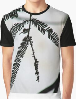 A Silhouette Of A Plant Graphic T-Shirt