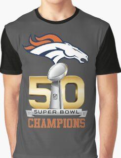 Denver Broncos Super Bowl 50 Champions Graphic T-Shirt