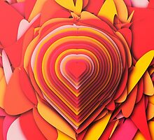 Heart Layers by POP Collective