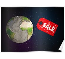 Earth sale Poster