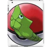 Metapod pokeball - pokemon iPad Case/Skin