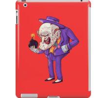 old joker iPad Case/Skin