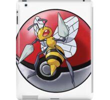 Beedrill pokeball - pokemon iPad Case/Skin
