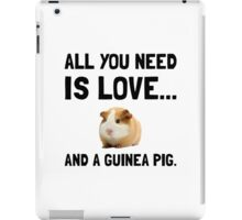 Love And A Guinea Pig iPad Case/Skin