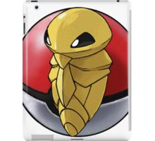 Kakuna pokeball - pokemon iPad Case/Skin