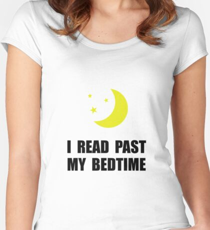 Read Past Bedtime Women's Fitted Scoop T-Shirt