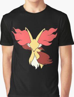 Pokemon Delphox design Graphic T-Shirt