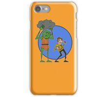 Kirk v Gorn iPhone Case/Skin