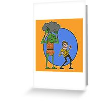 Kirk v Gorn Greeting Card