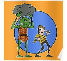 Kirk v Gorn Poster