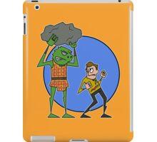 Kirk v Gorn iPad Case/Skin