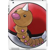Weedle pokeball - pokemon iPad Case/Skin