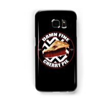 Damn Fine Cherry Pie - Twin Peaks Samsung Galaxy Case/Skin