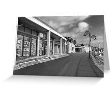Winter Seafront - Lyme Regis Greeting Card