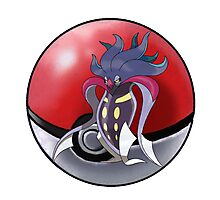 Sugimori malamar - pokeball - pokemon Photographic Print