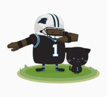 Cam Newton and Panther Kids Tee