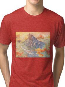 The Castle Tri-blend T-Shirt