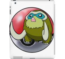 Shiny Mamoswine pokeball - pokemon iPad Case/Skin