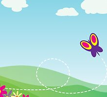 Butterfly Background by tshirtdesign