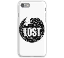 Lost world iPhone Case/Skin