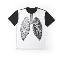Anatomical Lungs (Human) Graphic T-Shirt