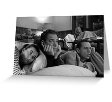 NCIS team sleepover Greeting Card