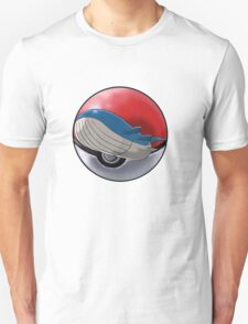 Wailord pokeball - pokemon T-Shirt