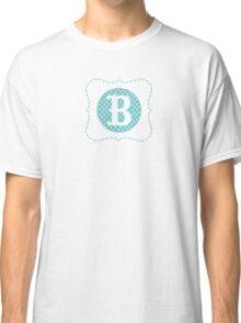 Striped Letter B Classic T-Shirt