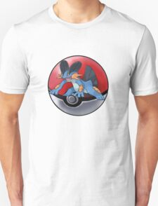 Swampert pokeball - pokemon T-Shirt