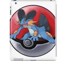 Swampert pokeball - pokemon iPad Case/Skin