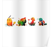 The Starters Cute Poster