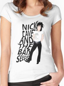 Nick Cave And The Bad Seeds Women's Fitted Scoop T-Shirt