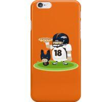 Peyton Manning and Bronco iPhone Case/Skin