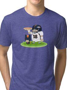 Peyton Manning and Bronco Tri-blend T-Shirt