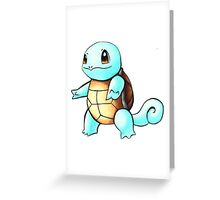 pokemon squirtle Greeting Card