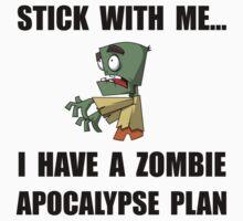 Zombie Plan Kids Tee
