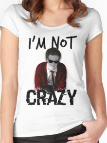 Spencer Reid || I'm not crazy Women's Fitted Scoop T-Shirt