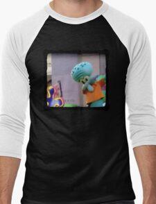 Squidward does the Dab Men's Baseball ¾ T-Shirt
