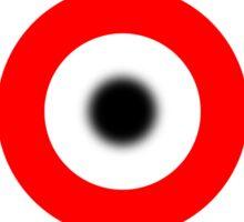 Target bulls eye Sticker