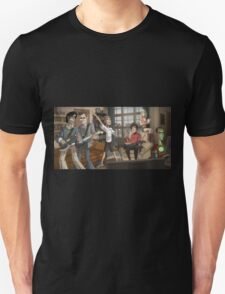 The Big Bang Theory catoon T-Shirt