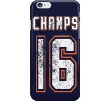CHAMPS 16 iPhone Case/Skin